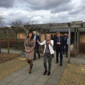 sophie løhde præsenterer sammenhændsreform innovationsminister